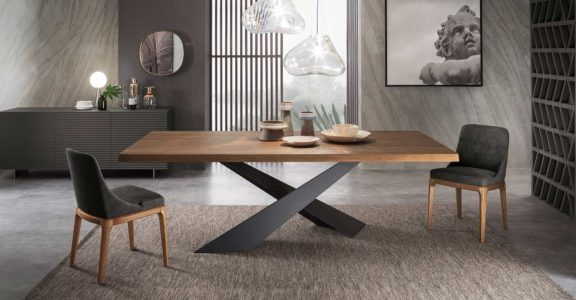 LIVING WOODEN TABLE